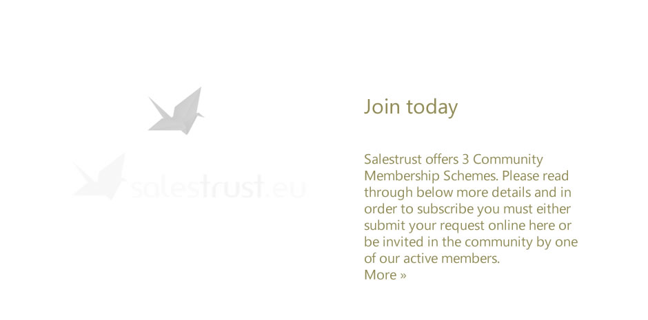 Salestrust - Join today
